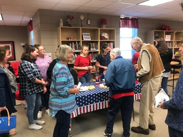 NMS Honors Veterans