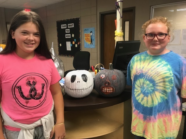 NMS Pumpkin Book Characters