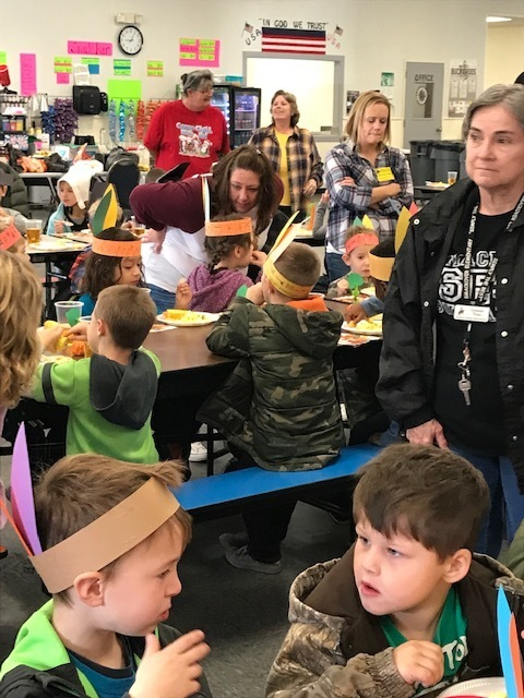 NES and SES Students Have a Thanksgiving Feast