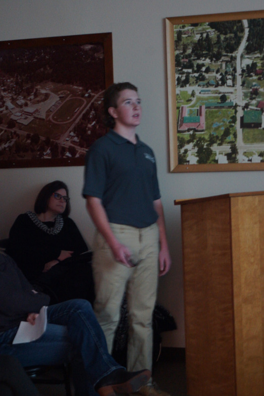 SHS Engineering Students Present Solutions to Flooding