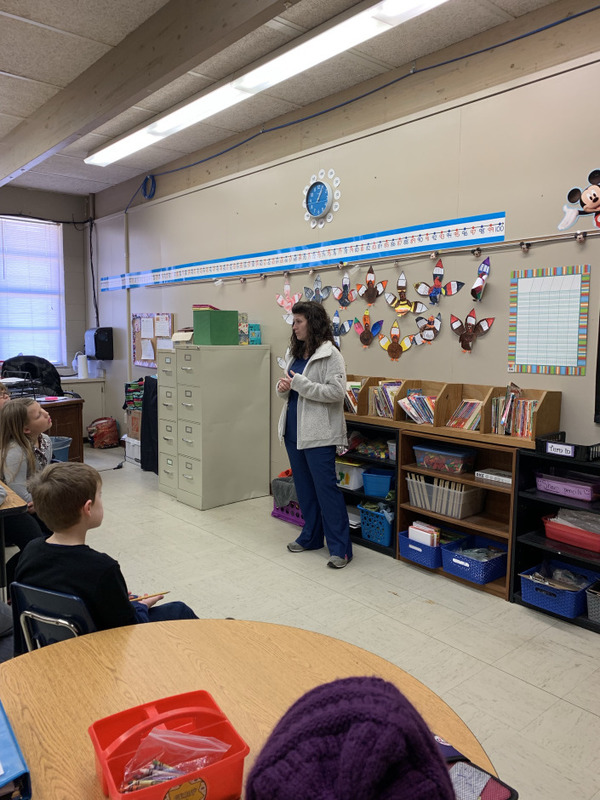 NES Students Celebrate American Education Week with Guest Speakers