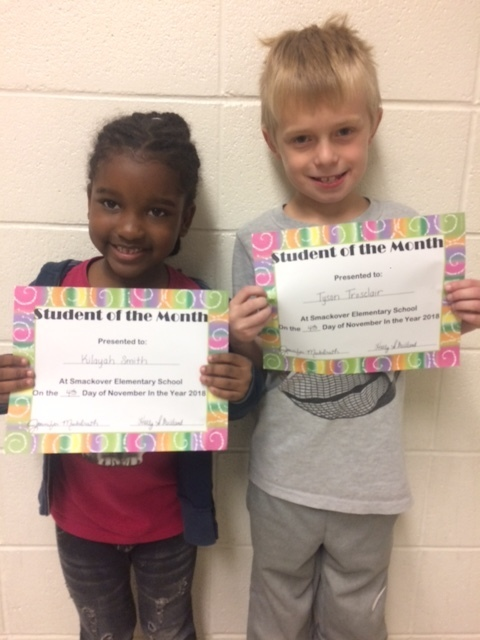 SES November Students of the Month