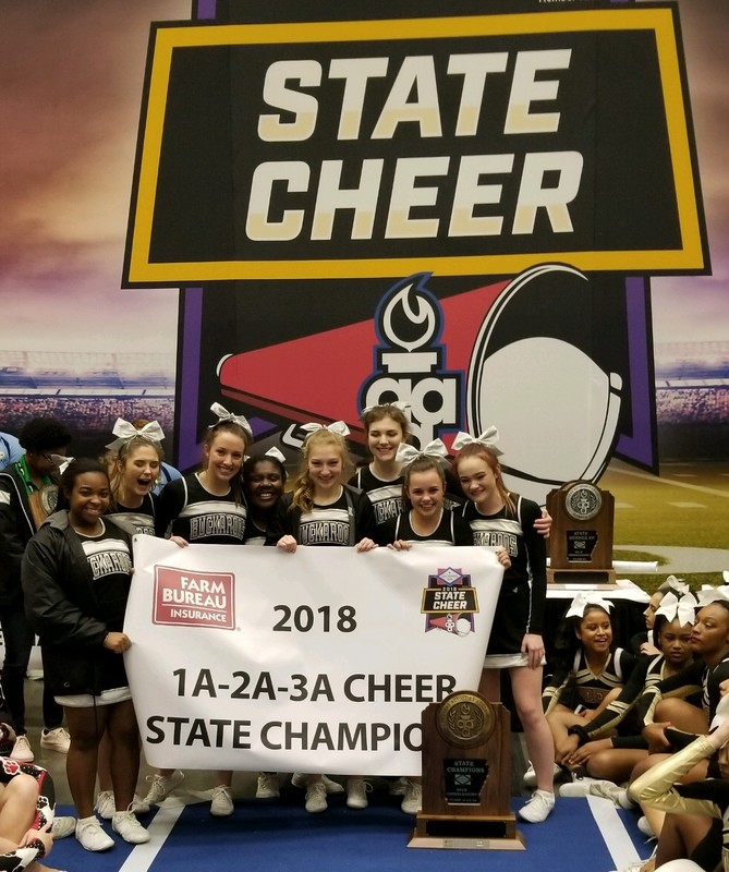 SHS Wins State Cheerleading Competition