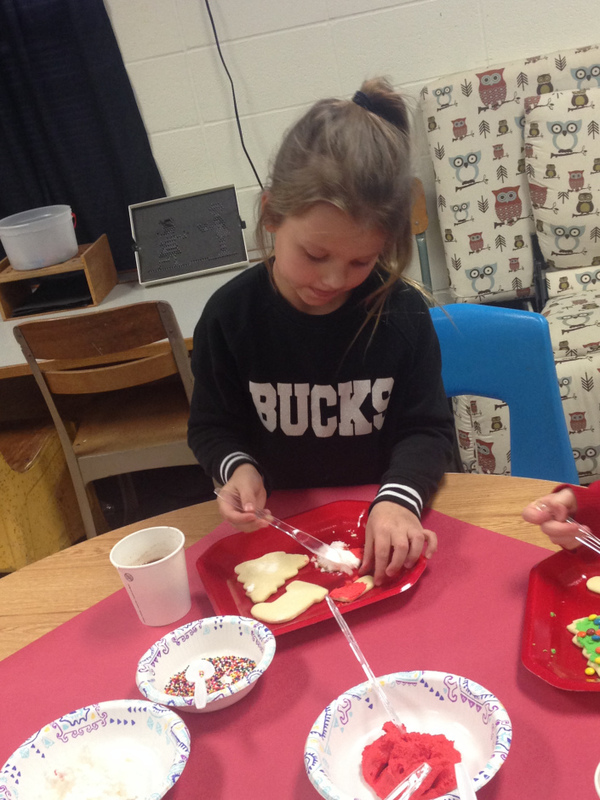 SES AR Achievers Make Cookies