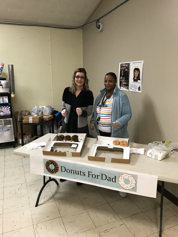 NES Donuts with Dads Day