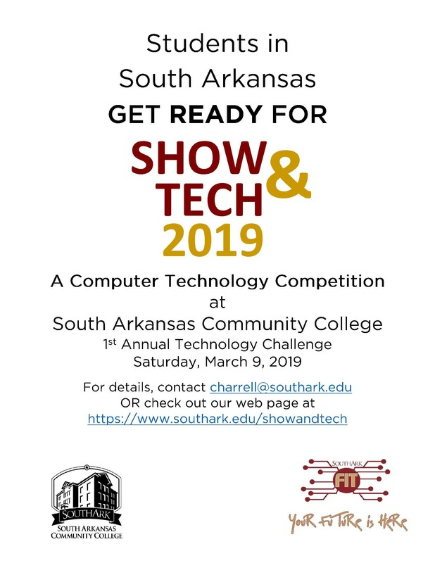 SACC Computer Technology Competition flyer