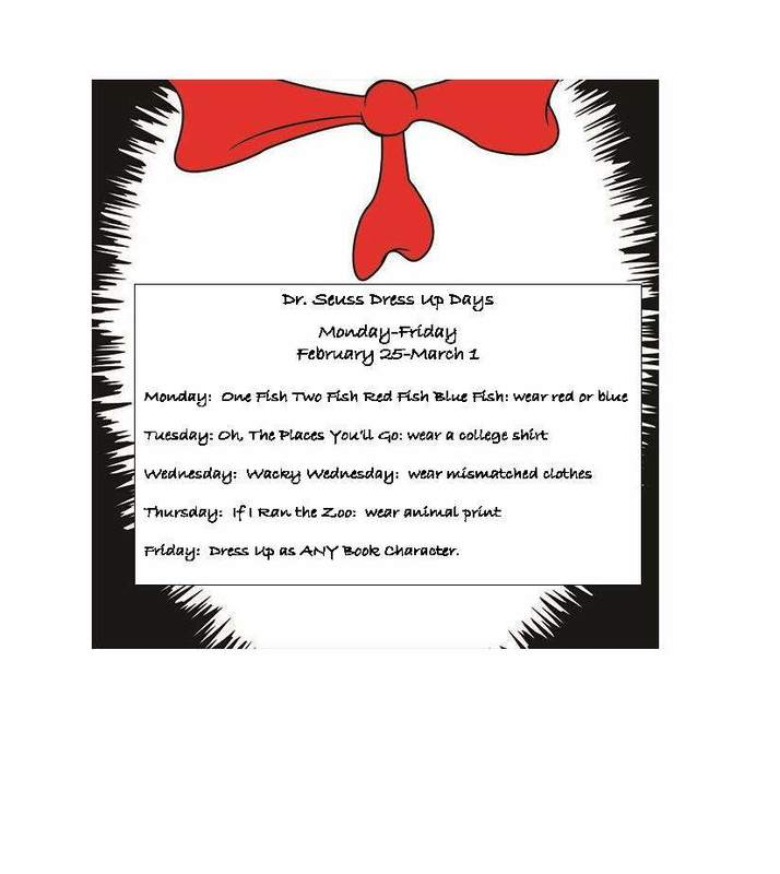 Dr. Seuss Week Is Coming!