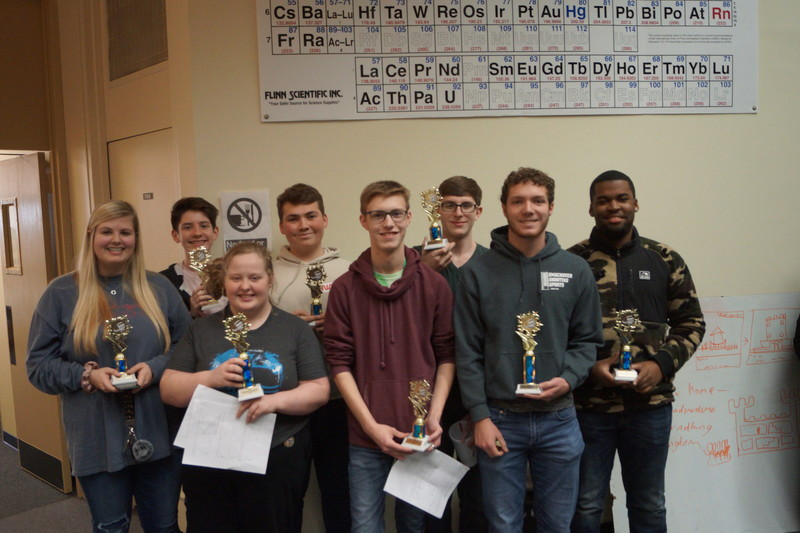 SHS Math Students  Participate in Regional Math Competition