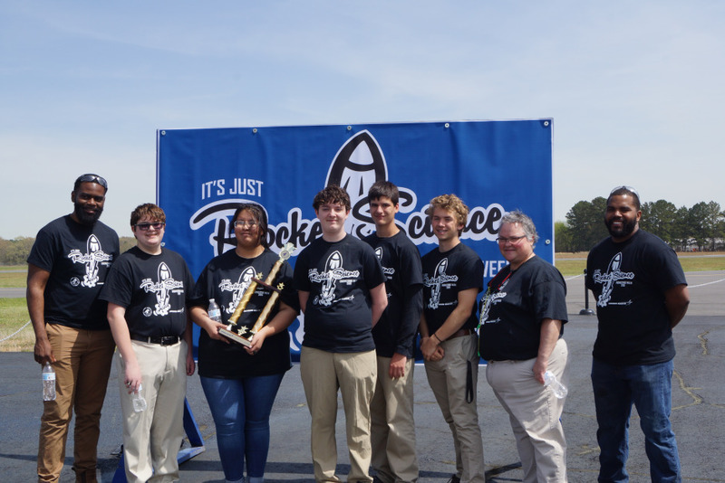 SHS Rocket Team Wins 2nd in Competition