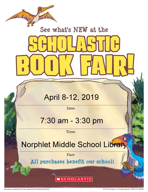 NMS Book Fair flyer