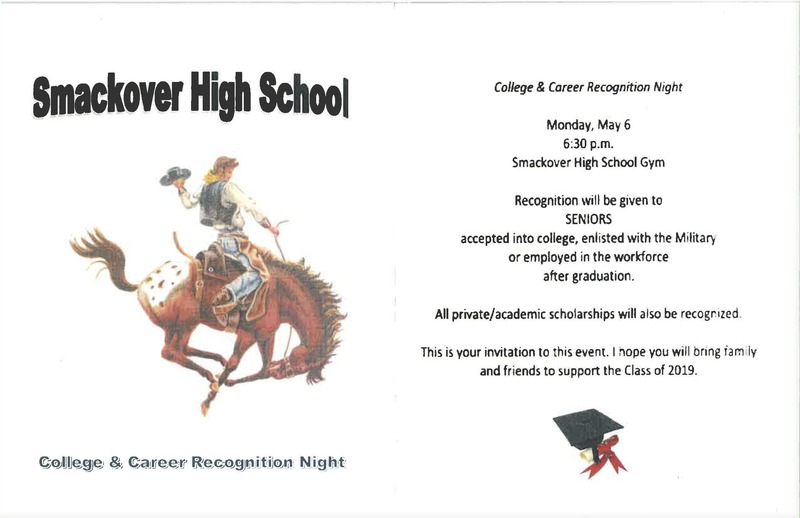 College and Career Readiness Night flyer