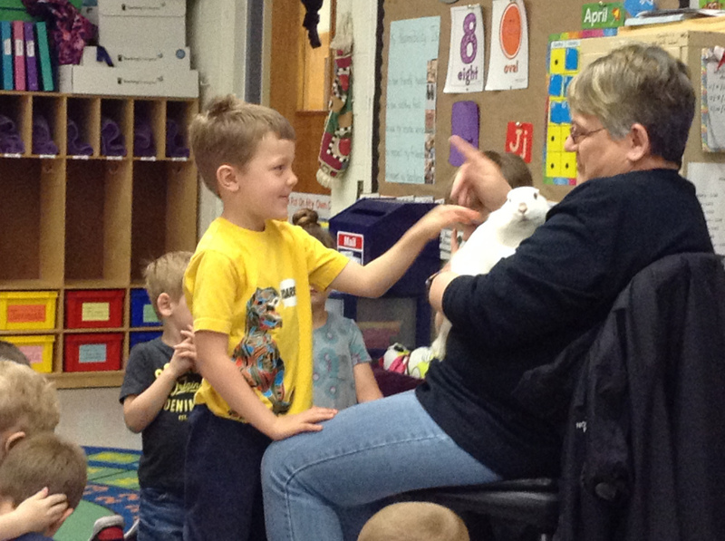 Bunny Comes to Visit SPS