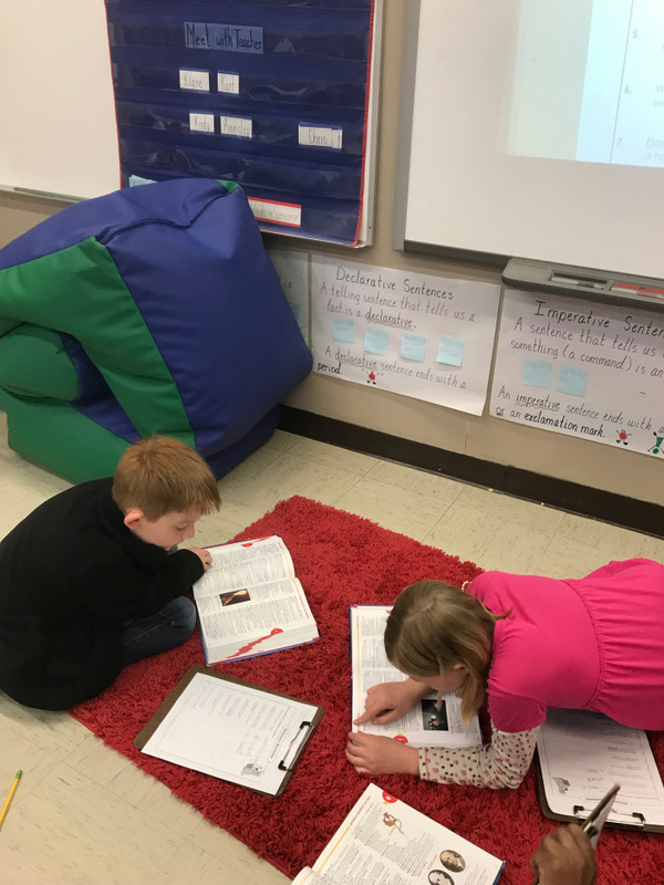 NES 2nd Graders Solve Dictionary Mysteries