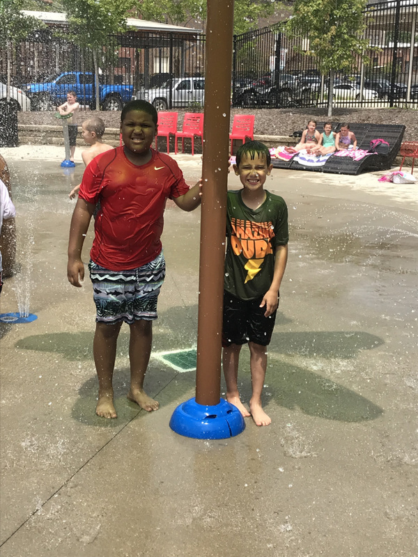 SES Readers Are Rewarded with the Splash Pad
