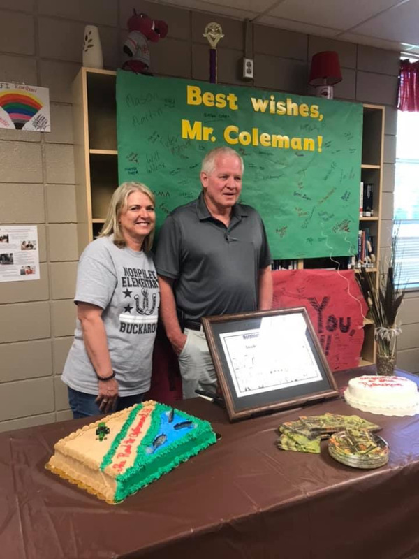 NMS Recognizes Retiring Principal