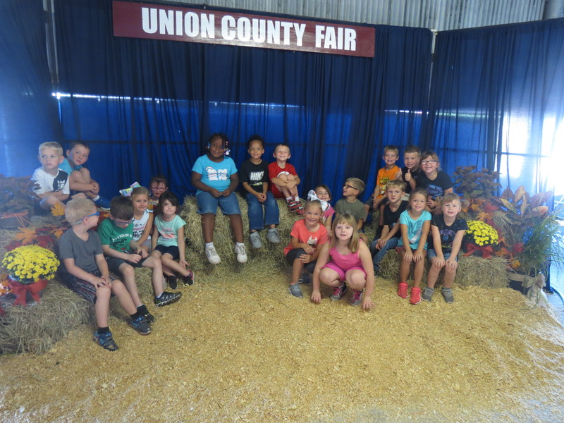 SES Kindergarten Students at Union County Fair pic 3