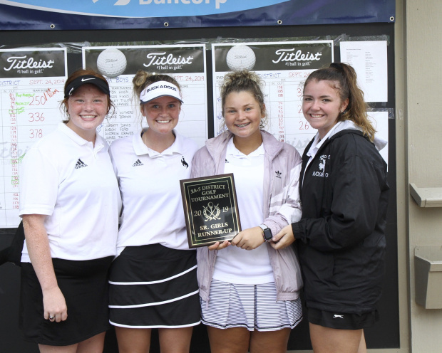 SHS GIRLS GOLF TEAM ADVANCES TO STATE