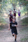 NMS Cross Country Team Member Running at Moro Bay Meet