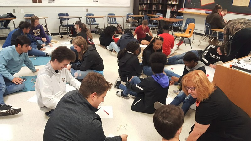 Students Learn About Games from the Early 20th Century