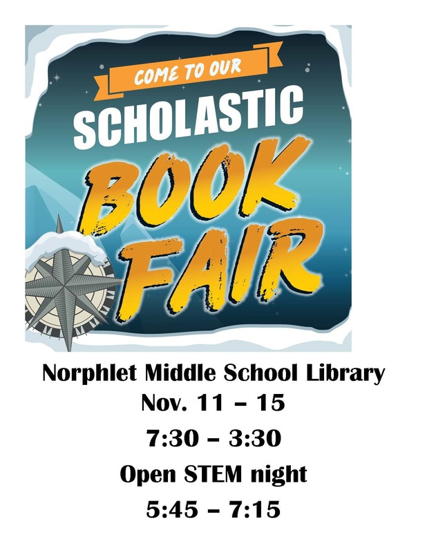 Scholastic Book Fair At Norphlet Middle School