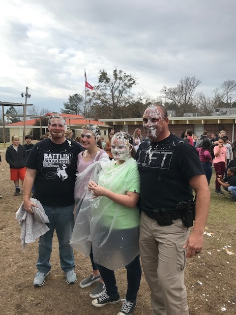 Pie in The Face: All for Books Contest Results